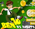 Ben 10 Robotlara Kar